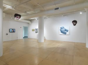 Installation view, I THINK WE'RE READY TO GO TO THE NEXT SEQUENCE. Photo courtesy Gallery 400.