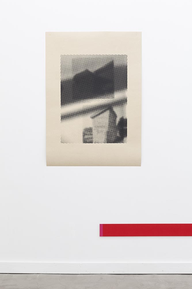 Printing Always Printing (Outhouse), 2014. Below: Spanner #4, 2014