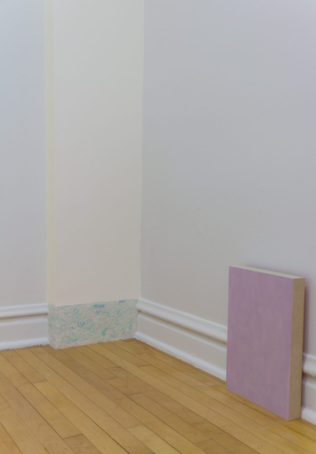 Installation view, Middle Double, 2014
